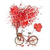love bike vector illustration
