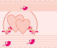 Love bird background Stock Photo