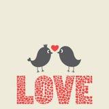 Love bird bird Stock Photo