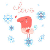 In love bird Royalty Free Stock Photography