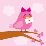 Love Bird Letter Stock Photo