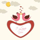 Love Bird Royalty Free Stock Photography