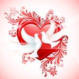 Love Birds Royalty Free Illustration