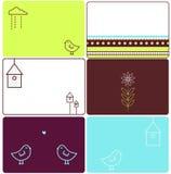 Love birds designs Stock Images