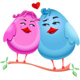 Love_birds Royalty Free Stock Images