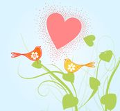 Love of birds3 Royalty Free Stock Photo