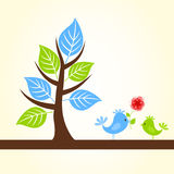 Love of birds7 Royalty Free Stock Images