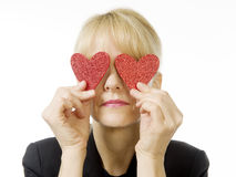 Love is blind! Stock Photo