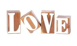 Love Blocks Royalty Free Stock Image