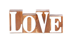 Love Blocks Royalty Free Stock Photography