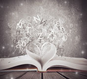 Love for book Royalty Free Stock Image