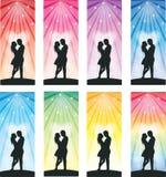 Love bookmark Stock Photos