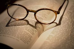 Love for books Stock Photography