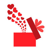 Love box Stock Photography