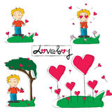 Love boy Royalty Free Stock Images