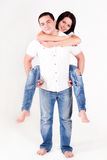 Love boy and girl, happy family Royalty Free Stock Image