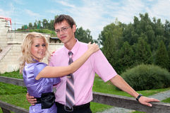 Love, boy and girl Royalty Free Stock Photo
