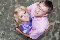 Love, boy and girl Stock Photos