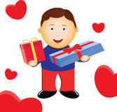 Love boy Stock Images