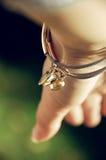 Love. The Love bracelet close-up photo Stock Photos