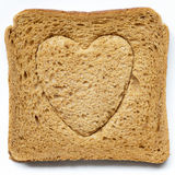 Love bread Stock Image