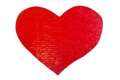 Love brick wall Stock Image