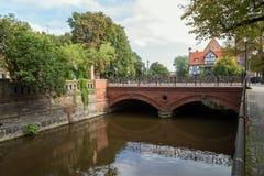 Love Bridge in Gdansk Stock Image