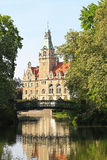 Love Bridge Maschpark Stock Image