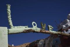 Love Sign Art Bridge Royalty Free Stock Photography