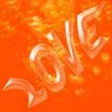 Love bubble Royalty Free Stock Image