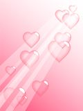 Love bubbles. Royalty Free Stock Images