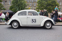 Love Bug VW Beetle side view Stock Photography