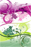Love butterfies vector. Abstract illustration Royalty Free Stock Image