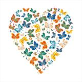 Love butterflies Stock Photography