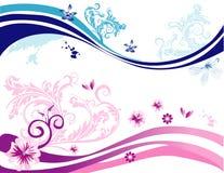 Love butterflies vector. Abstract illustration Royalty Free Illustration