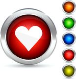 Love button. Royalty Free Stock Image