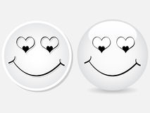 Love buttons Royalty Free Stock Photography