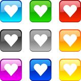 Love Buttons. Stock Images
