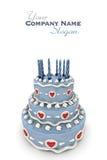 Love cake Stock Photos