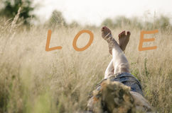 Love can be expressed in many ways Royalty Free Stock Images