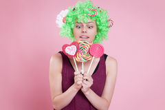 Love candies Royalty Free Stock Photos