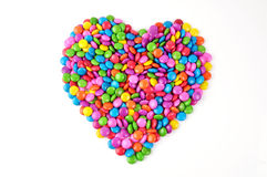 Love candy. Close-up of love candy Royalty Free Stock Photo