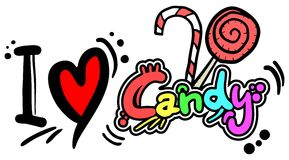 Love candy Royalty Free Stock Images