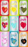 Love cans Stock Image