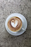 Love capuccino Royalty Free Stock Photography