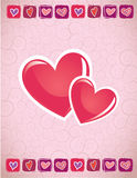 Love Card Royalty Free Stock Photos
