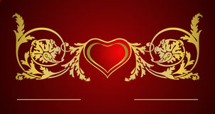Love card. Vector for valentines day or love-letter Stock Photo
