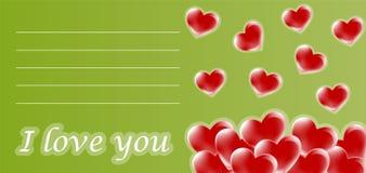 Love card Royalty Free Stock Photo