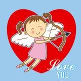 Love card design. Stock Photo