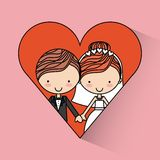 Love card Royalty Free Stock Photos